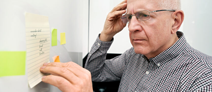 Demencja – pierwsze oznaki